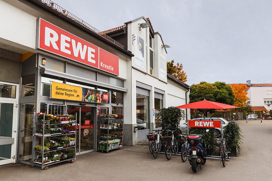 Supermarkt REWE Kreutle