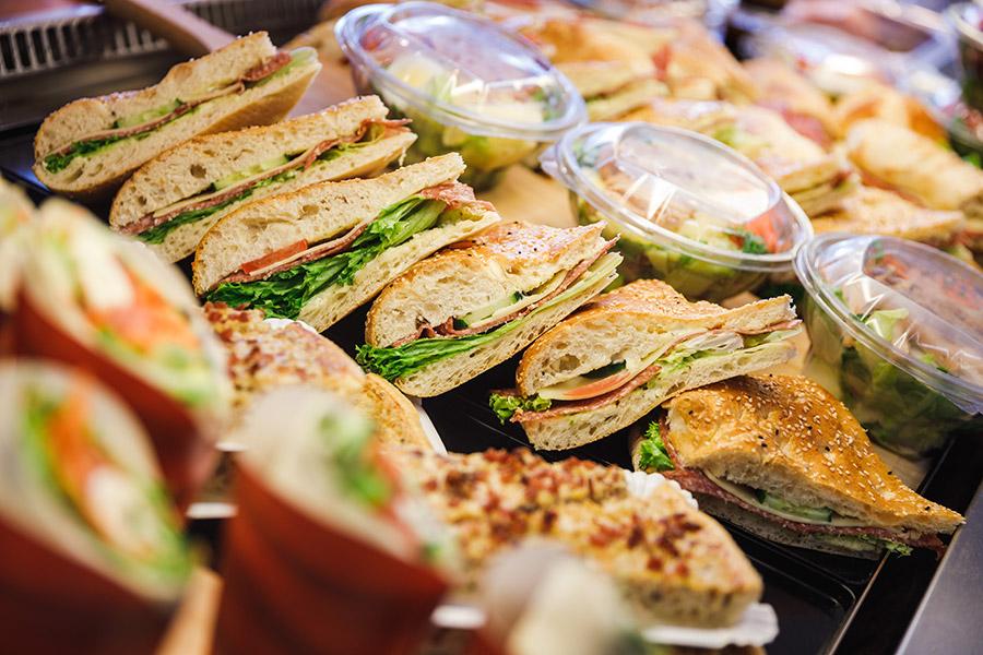Belegte Sandwiches in Friedrichshafen